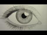 Как рисовать реалистичные глаза (Time Lapse) это не нашое видео но оч интерестно отвечаю