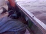 На рыбалке на кольцо)))